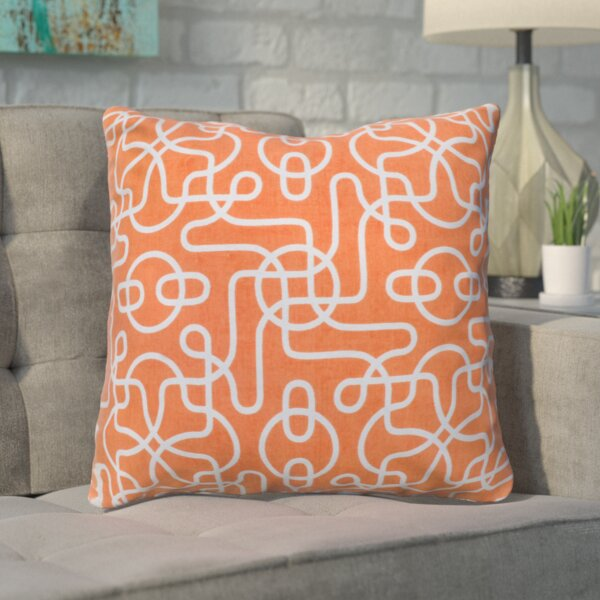 Pekanbaru Reversible 100% Cotton Throw Pillow by Wrought Studio